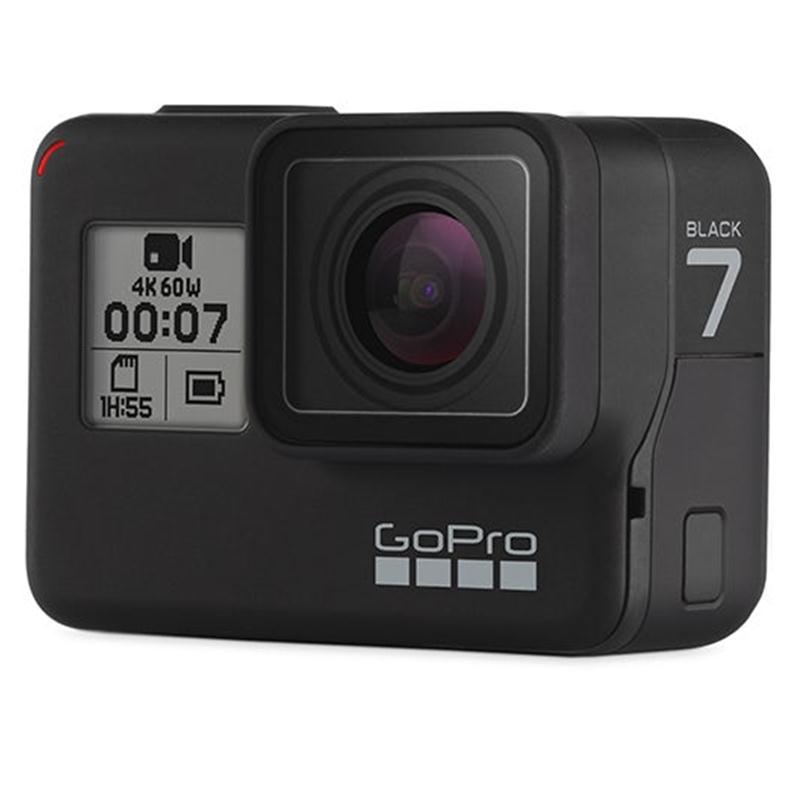 Combo GoPro Hero 7 Black + Thẻ Nhớ 64GB Quay 4K + Bộ Pin Xạc Kép Ravpower - Hàng Nhập Khẩu