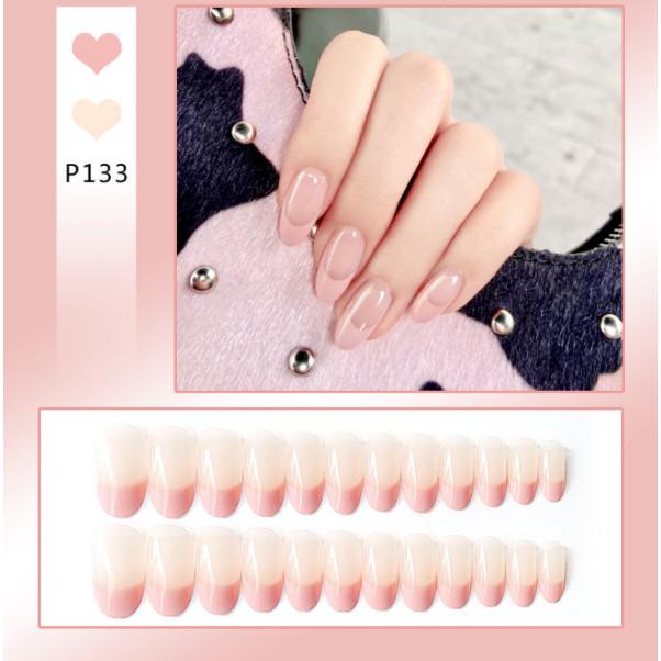 Bộ 24 móng tay giả nail thơi trang như hình P133