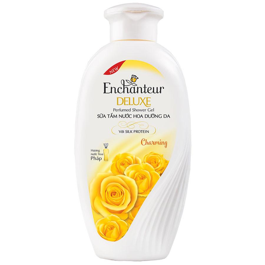 Sữa Tắm Enchanteur Deluxe Beauty Charming 180g - 1015234