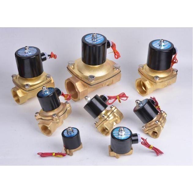Van điện từ phi 21, phi 27,phi 34 thường đóng 220V, van thoát nước, van nước điều khiển bằng điện