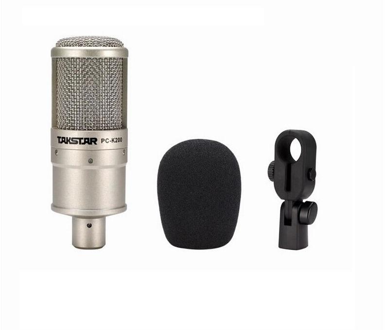 Micro Hát Karaoke Thu Âm PC-K200 Chỉ Mic AZONE