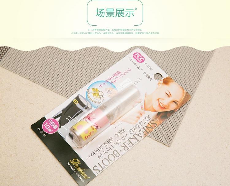 Chai xịt khử mùi hôi giày kháng khuẩn Sanada Seiko 10ml - Nội địa Nhật Bản