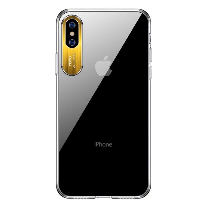 Vàng - Ốp lưng chống sốc cho iPhone X  iPhone Xs trang bị viền nhôm bảo vệ camera Hiệu Totu Sparkling Khung bảo vệ camera, chống trầy xước, chống ố vàng, tản nhiệt tốt  - Vàng - hàng chính hãng - 23553525 , 5184324340662 , 62_19853408 , 150000 , Vang-Op-lung-chong-soc-cho-iPhone-X-iPhone-Xs-trang-bi-vien-nhom-bao-ve-camera-Hieu-Totu-Sparkling-Khung-bao-ve-camera-chong-tray-xuoc-chong-o-vang-tan-nhiet-tot-Vang-hang-chinh-hang-62_19853408 , tik
