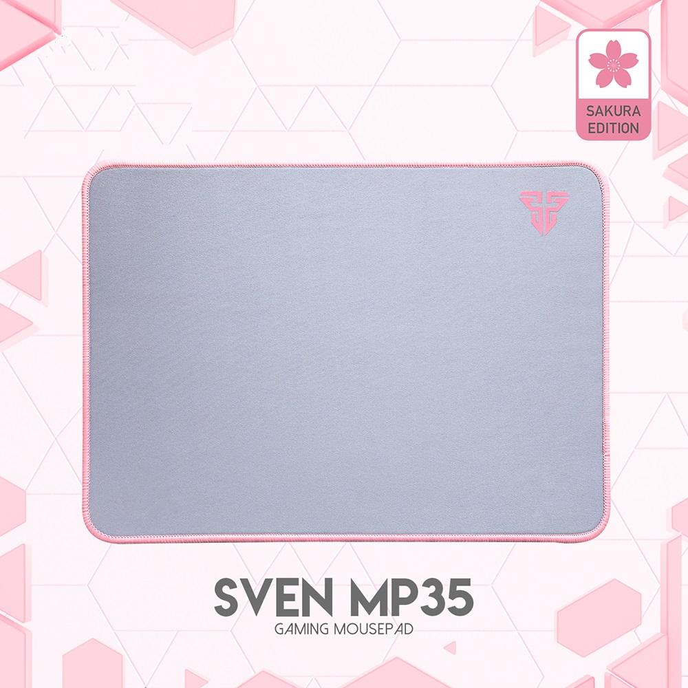 Đế lót di chuột tốc độ cao Fantech MP35 màu hồng chất liệu cao su tự nhiên, đế chống trượt - Hàng chính hãng