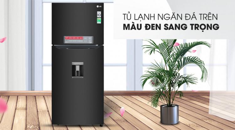 Tủ lạnh LG Inverter 393 lít GN-D422BL - Màu sắc sang trọng, kiểu dáng hiện đại
