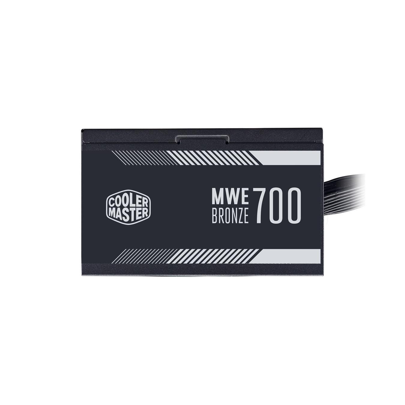 Nguồn máy tính Cooler Master  MWE 700 BRONZE V2 - 80 Plus BRONZE - Hàng chính hãng