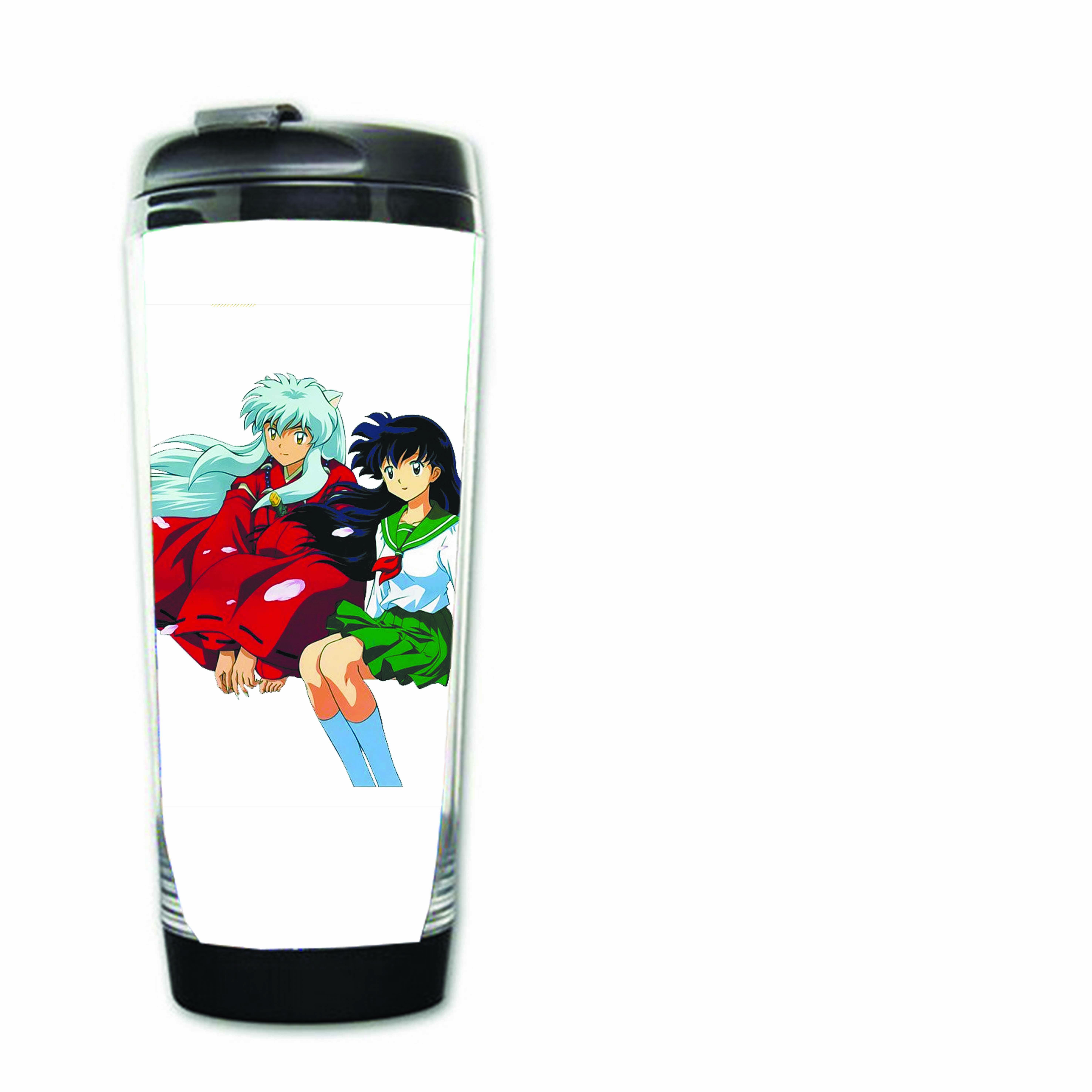 Bình nước nhựa IN HÌNH Inuyasha - Khuyển Dạ Xoa anime