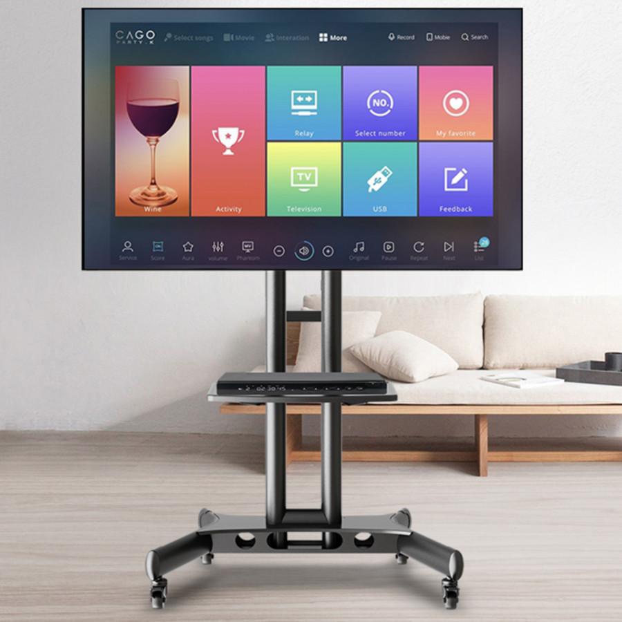 Kệ Tivi Di Dộng Ava1500c dùng cho TV 32-65 inch ( Hàng Nhập Khẩu )