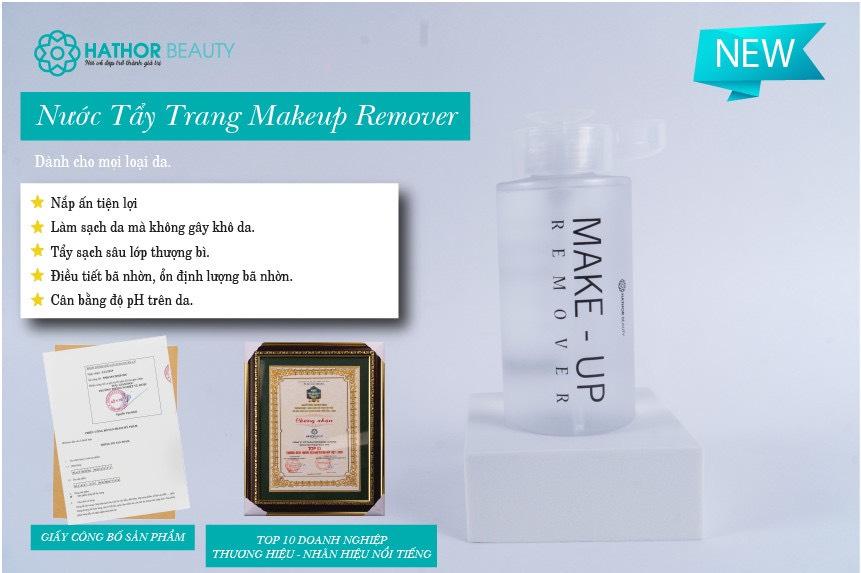Nước Tẩy Trang Làm Sạch Sâu Cho Da Makeup Remover Hathor Beauty 300ml