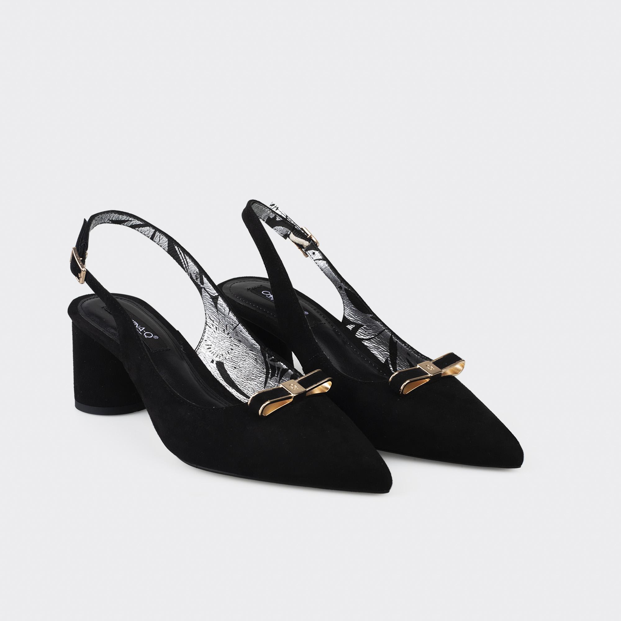Giày Cao Gót Mũi Nhọn Christina-Q GBN281