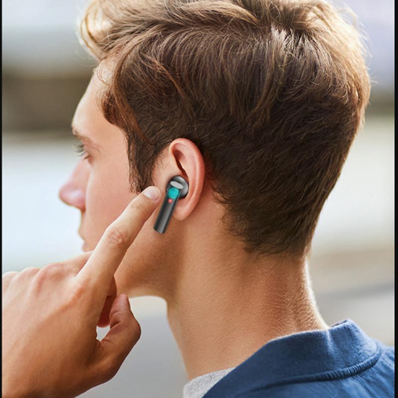 Tai Nghe Không Dây Kết Nối Bluetooth Tương Thích Với Các Thiết Bị Điện Thoại - Hàng Chính Hãng