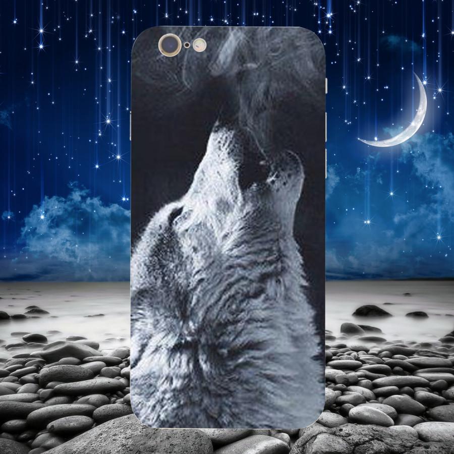 Ốp Lưng Con Sói,Dành Cho Máy iPhone 6 ,iphone 6s Ốp Cứng Viền TPU Dẻo,Ốp Cao Cấp Chính Hãng ,Mã SI0008