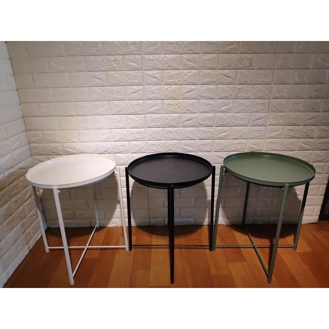 3 bàn trà phối màu khác nhau