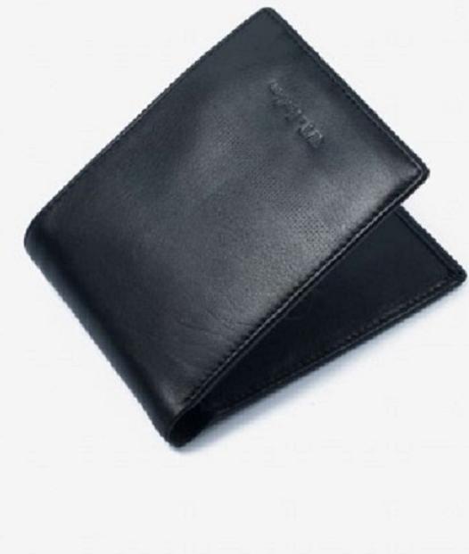 Ví Da Nam Da Bò Cao Cấp Màu Đen WT Leather 0131.2