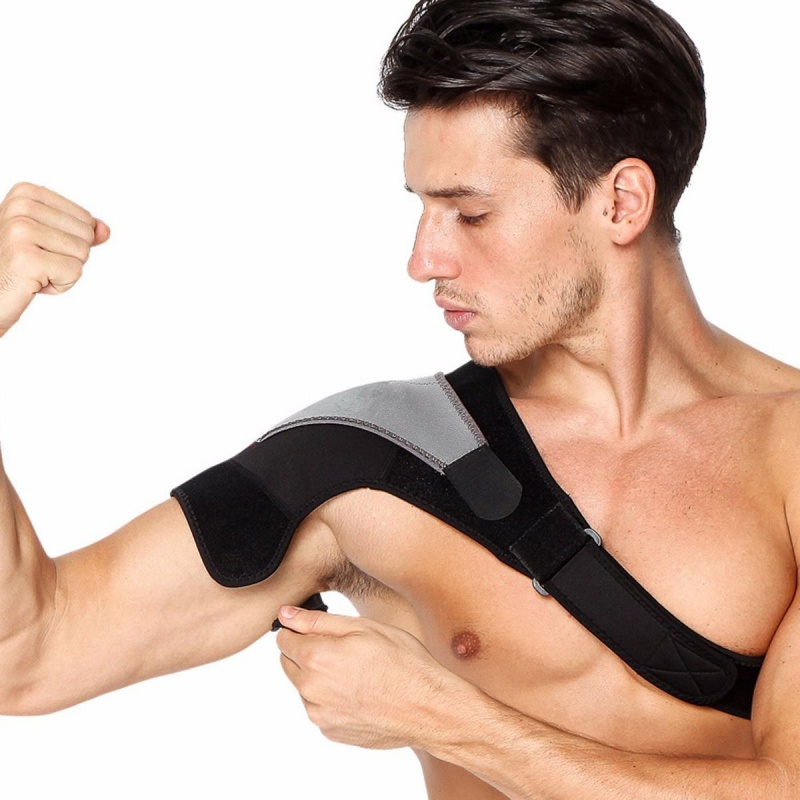 Băng bảo vệ vai tập gym, tập thể hình, chơi thể thao cao cấp XJ9102