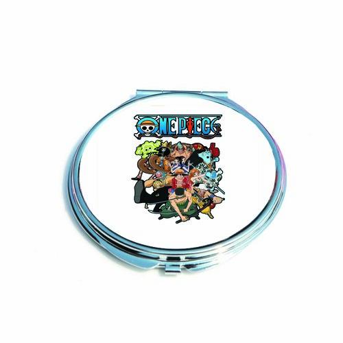 Gương mini cầm tay bỏ túi IN HÌNH One Piece - Đảo Hải Tặc anime