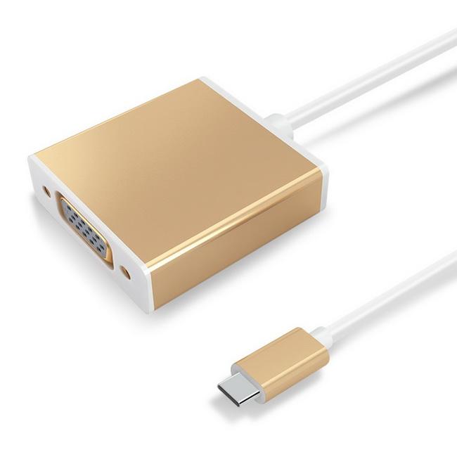 Cáp Chuyển USB Type-C Sang VGA - Màu Ngẫu Nhiên