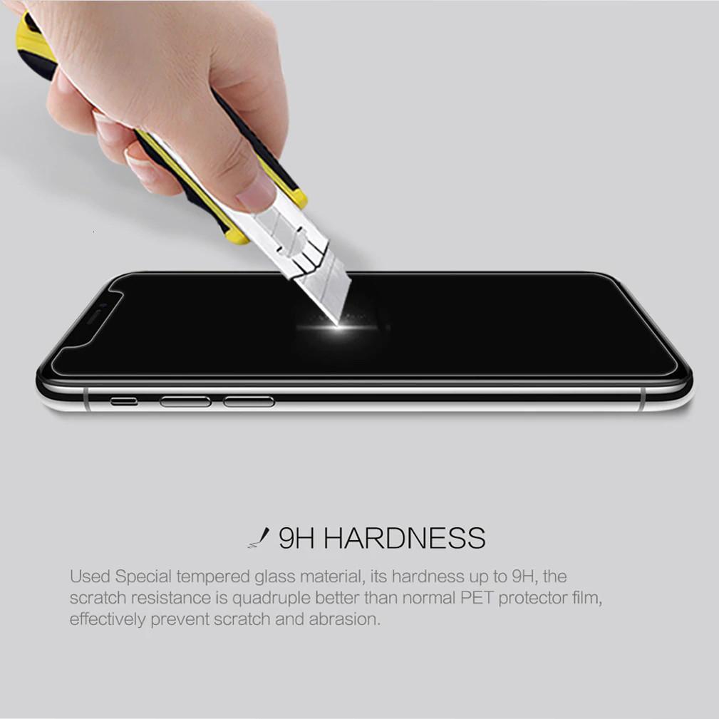 Miếng dán màn hình kính cường lực cho iPhone 11 (6.1 inch) hiệu Nillkin Amazing H+ Pro (mỏng 0.2 mm, vát cạnh 2.5D, chống trầy, chống va đập) - Hàng chính hãng