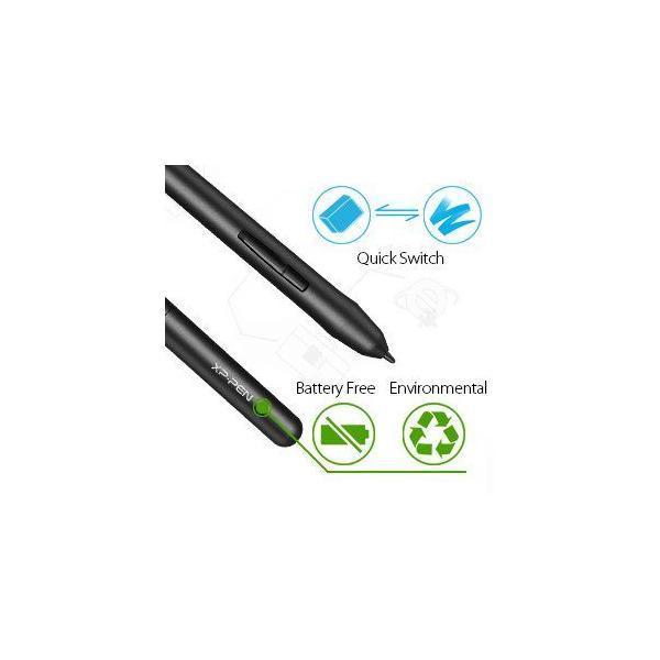 Bảng vẽ điện tử XP-Pen Star 03 12inch bút stylus không sạc 8 phím tắt - hàng chính hãng