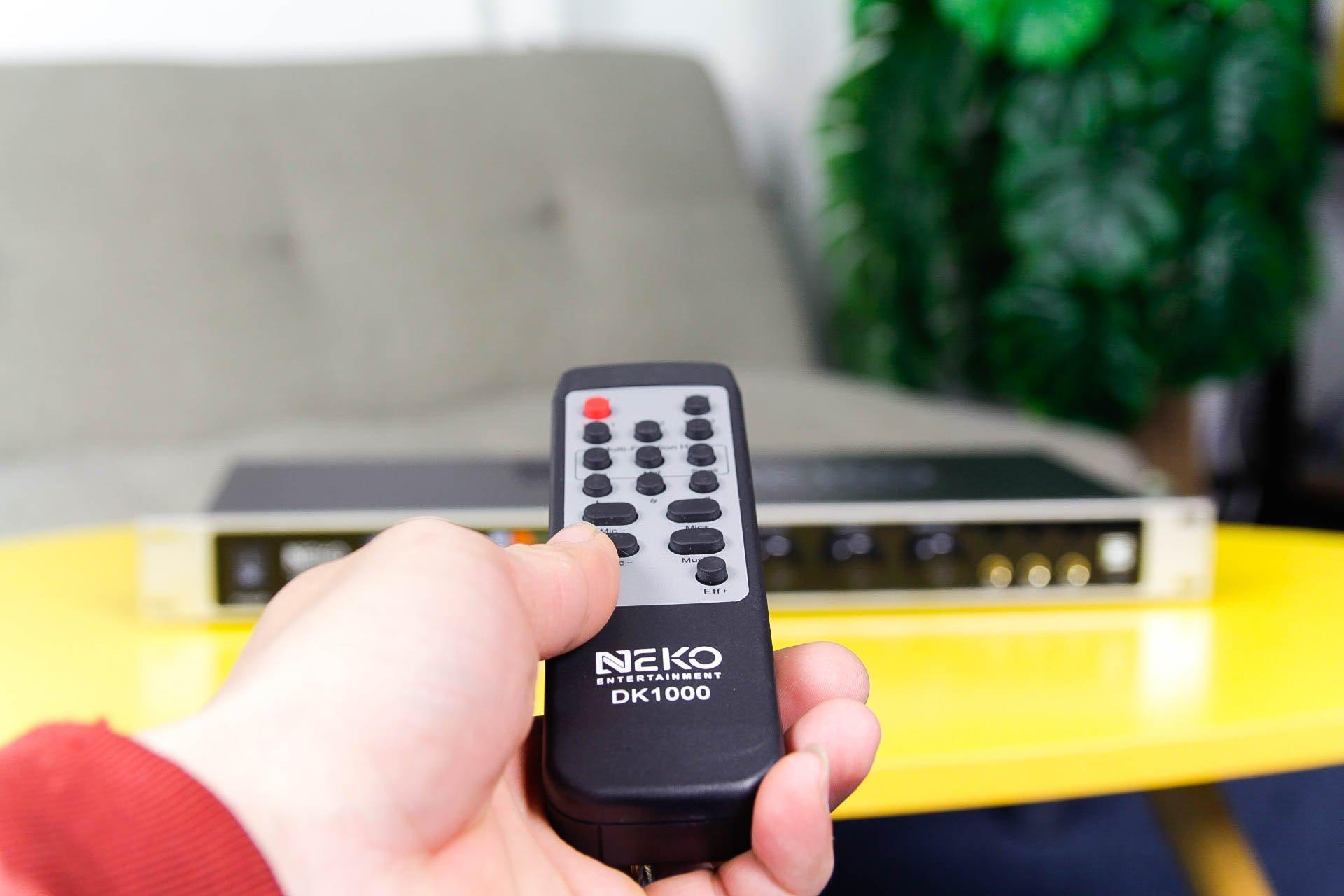 Vang số chỉnh cơ NEKO DK1000 - Hàng Chính Hãng - Có blueeooth, cổng quang học, dễ chỉnh
