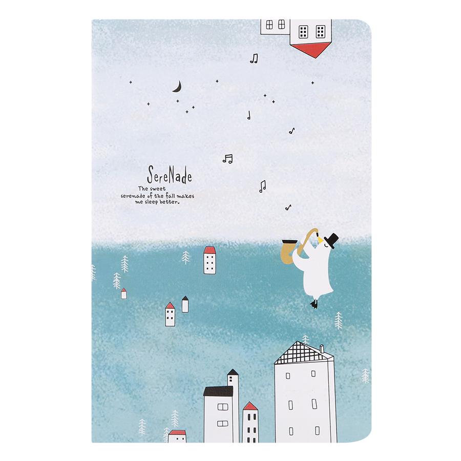 Combo 4 Cuốn Sổ Tay 60 Trang Vintage A5 - SereNade (14 x 21 cm)
