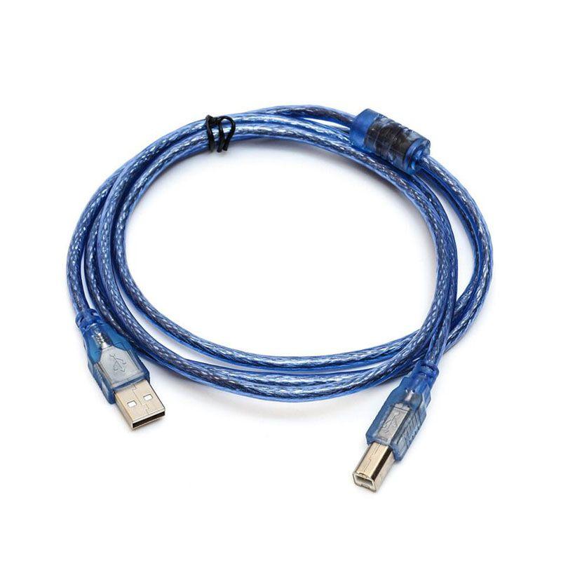Dây USB Máy In 3M Màu Xanh