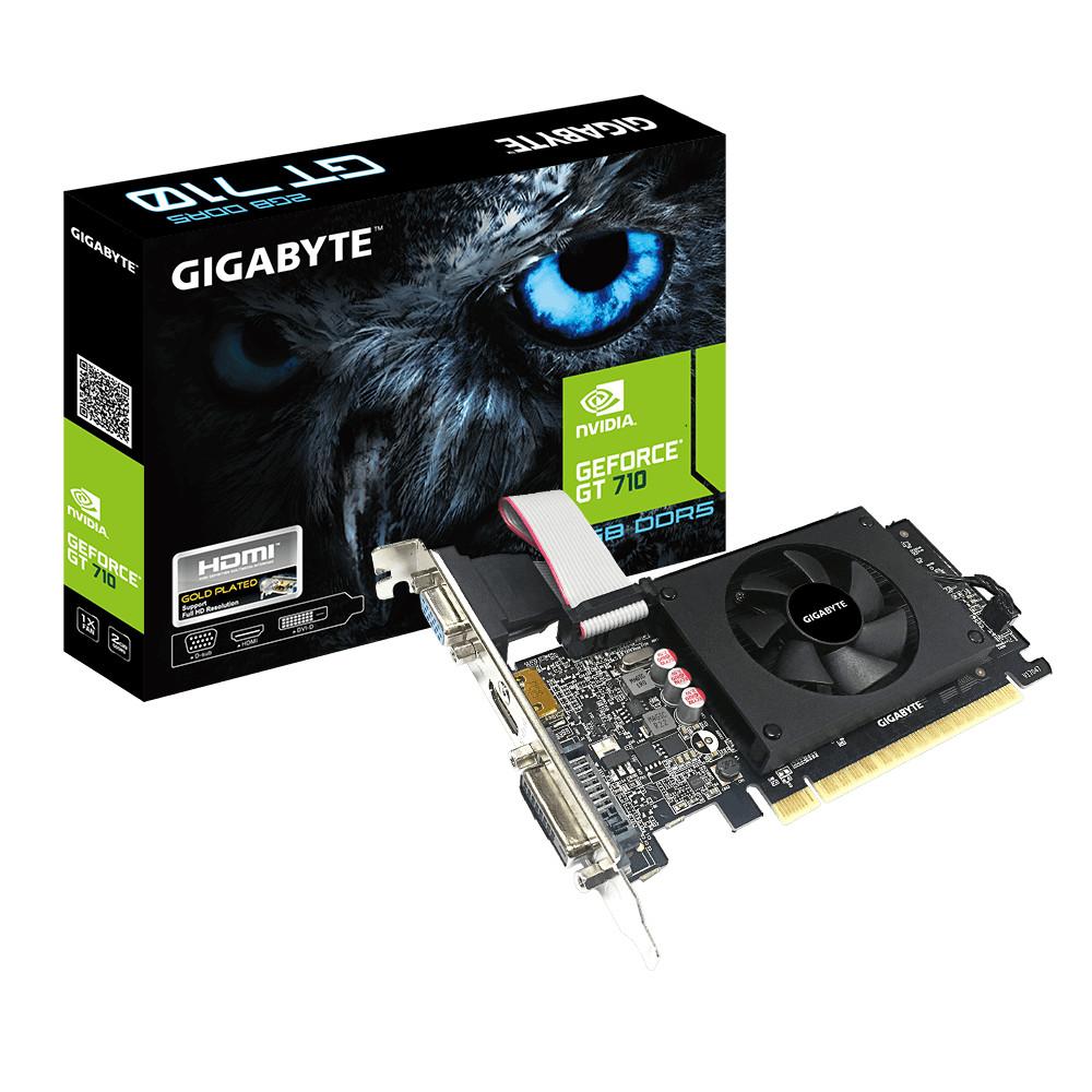Card màn hình VGA Gigabyte GV-N710D5-2GIL - Hàng chính hãng