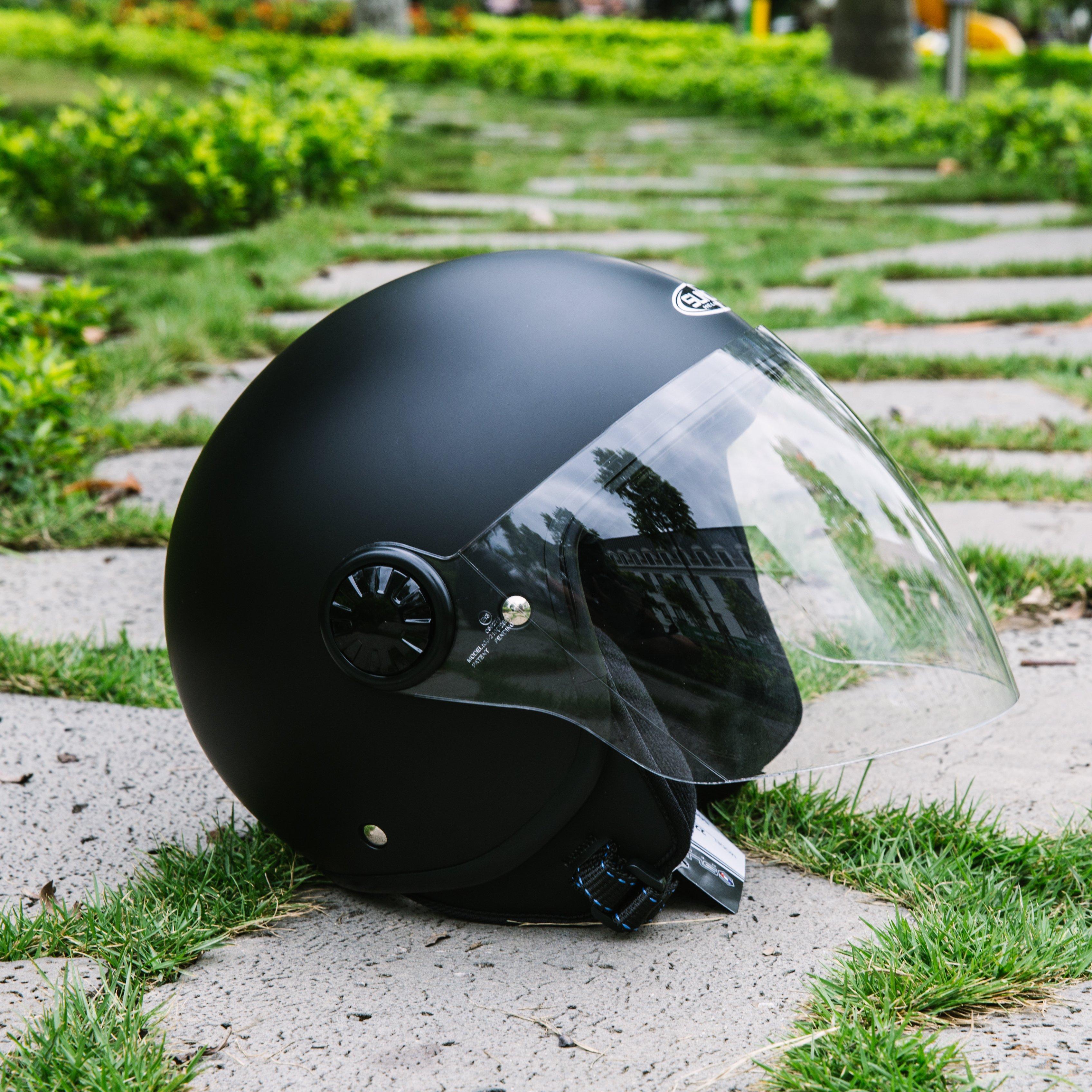 Mũ bảo hiểm 3/4 1 kính SUNDA 228