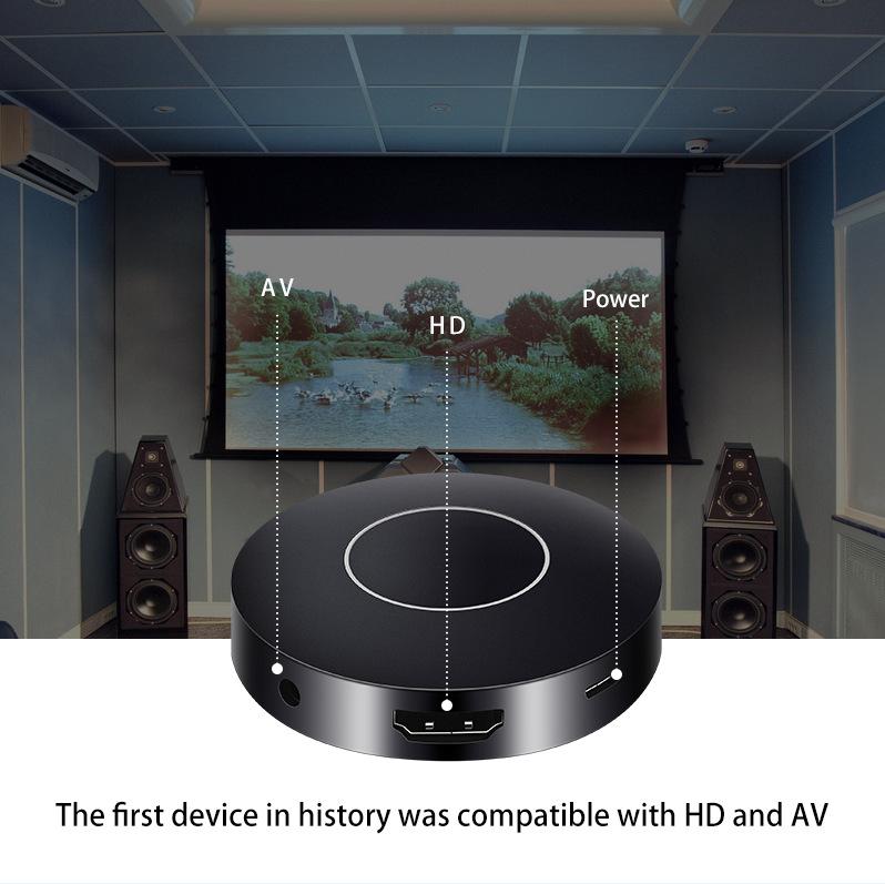 Thiết bị streaming từ điện thoại lên tivi qua ngõ HDMI hoặc AV - Q1 - Hàng Nhập Khẩu
