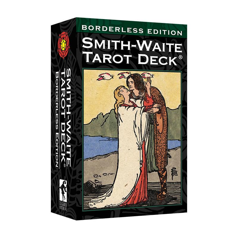 Bộ Bài Bói Smith Waite Tarot – Borderless Edition Cao Cấp