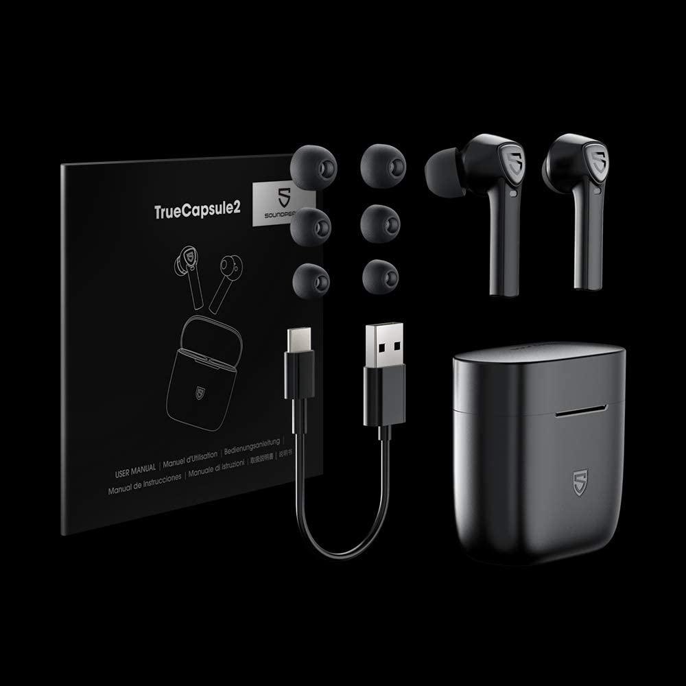 Tai nghe True Wireless Earbuds Soundpeats TrueCapsule 2 - Hàng chính hãng