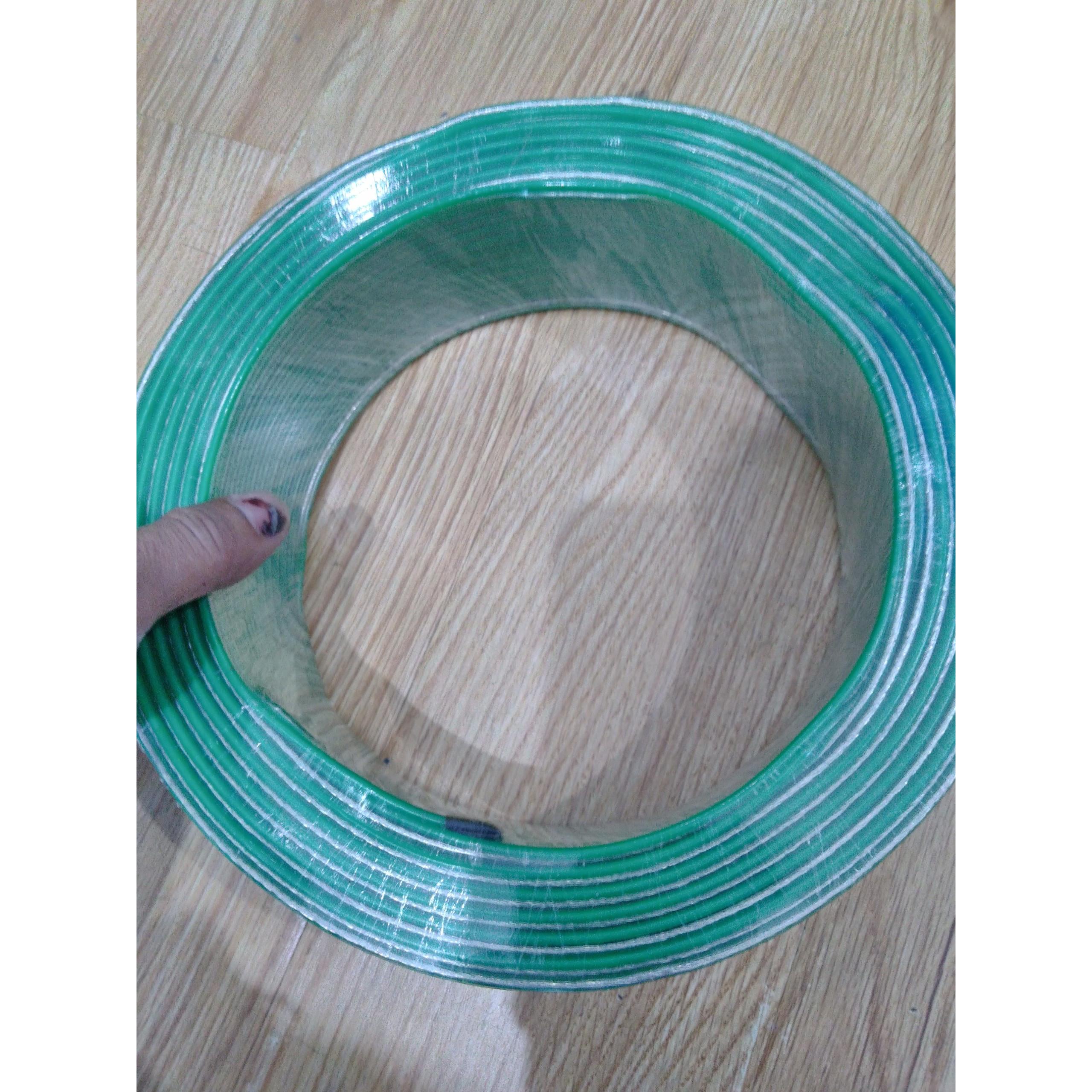 Combo 2 cuộn dây loa 17 tim cao cấp đồng mạ niken màu xanh