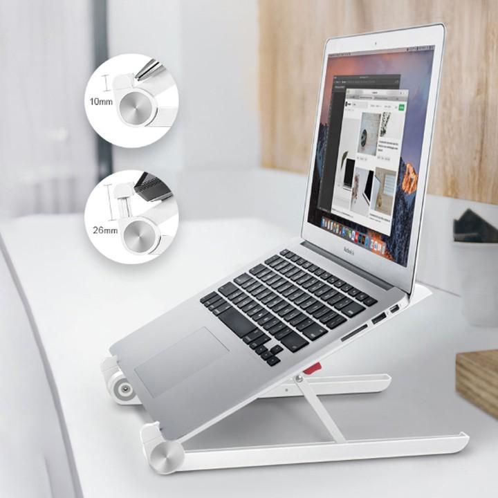 Gía kệ đỡ laptop macbook tản nhiệt nhỏ gọn tiện lợi thông minh dễ di chuyển