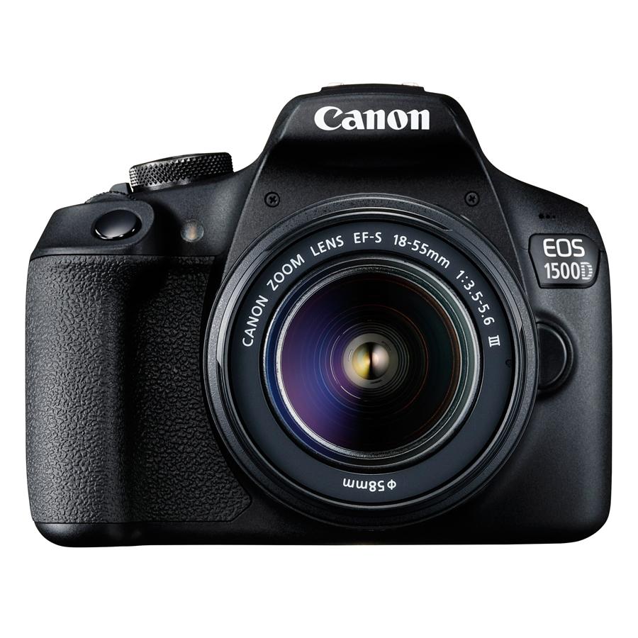 Hình ảnh Máy Ảnh Canon EOS 1500D + Lens EF-S 18 - 55mm III - Hàng Chính Hãng