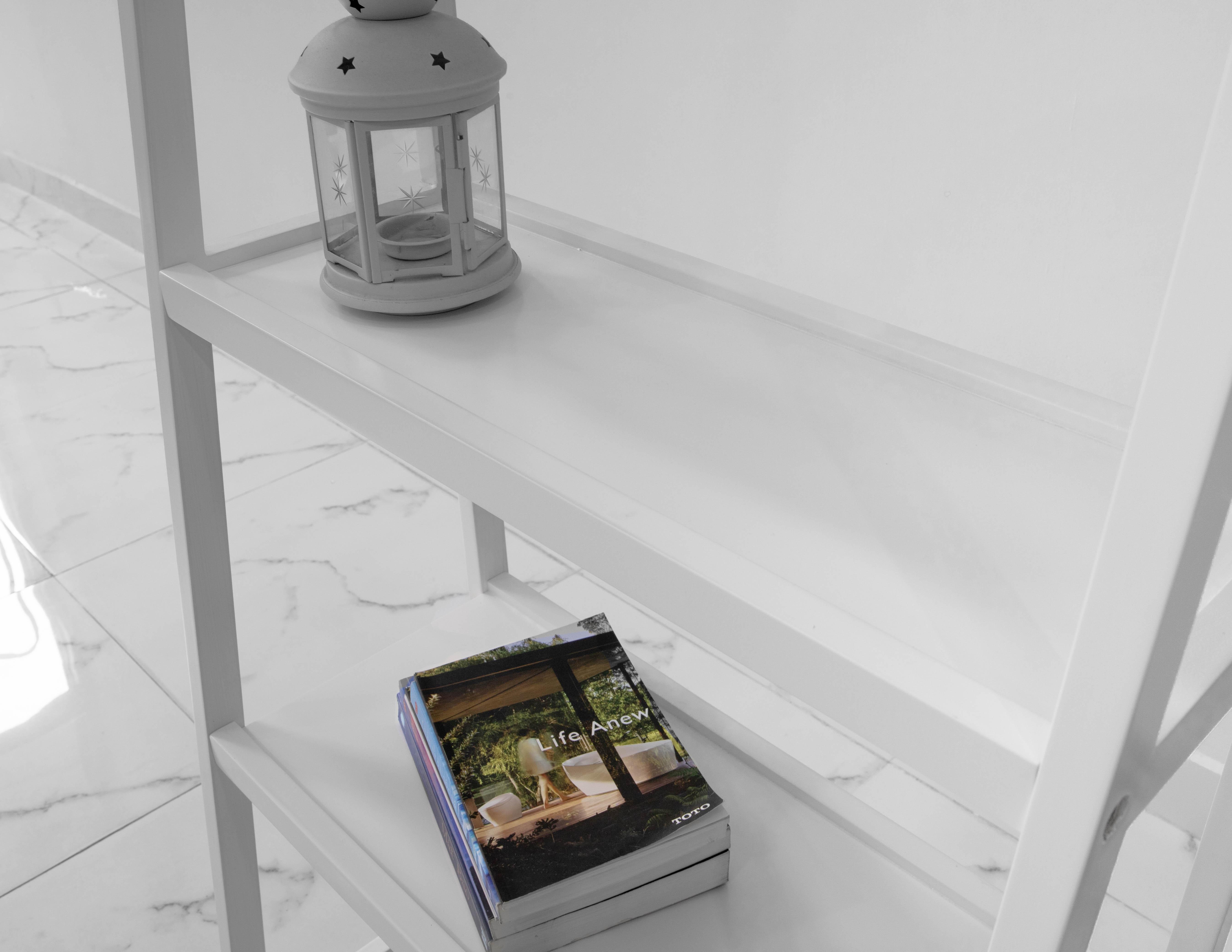 KỆ SÁCH HÀN QUỐC 4 TẦNG HÀN QUỐC MÀU TRẮNG - A BOOKSHELF 4F SIZE L WHITE