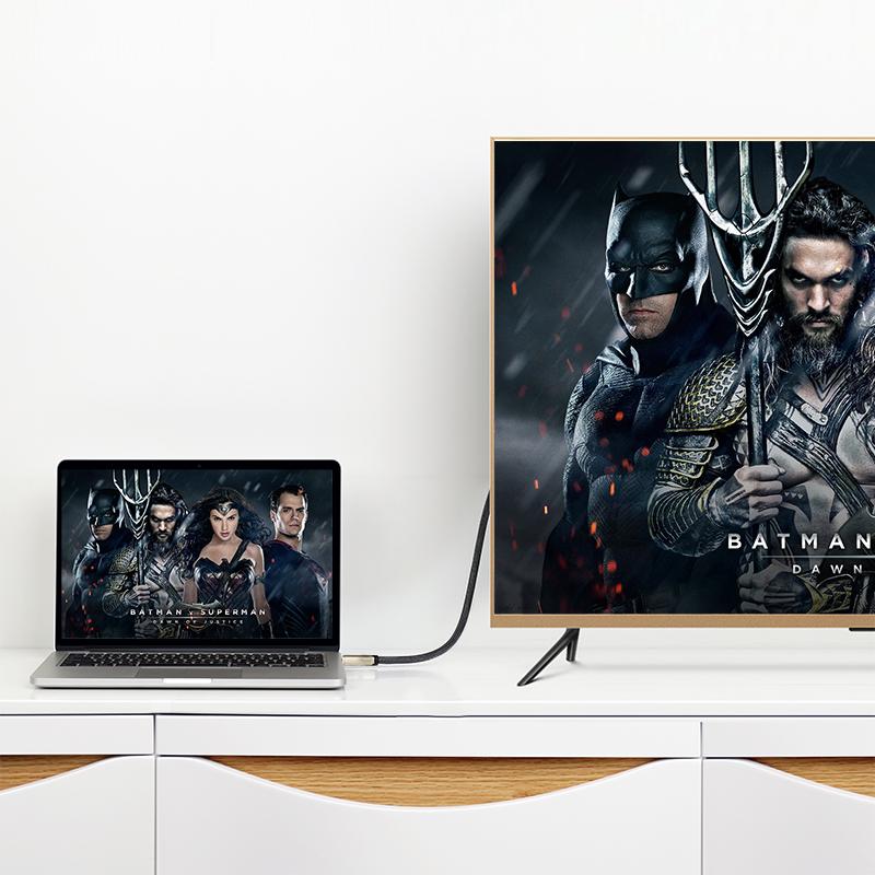 Dây DisplayPort 1.2 hỗ trợ 3D, 4K*2K 60 Hz dài 1M UGREEN DP107 30118 - Hàng Chính Hãng