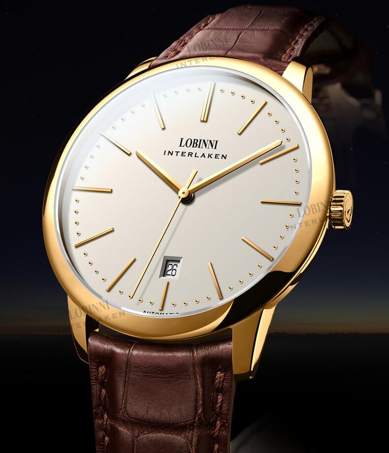 Đồng hồ nam LOBINNI L12028-1 Chính Hãng Thụy SỸ