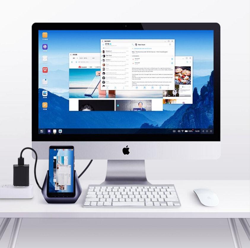 Hub USB-C đa năng mở rộng sang 3 cổng USB 3.0 và cổng HDMI kiêm chức năng giá đỡ, cốc sạc cho điện thoại thông minh UGREEN CM181 50515 - Hàng Chính Hãng