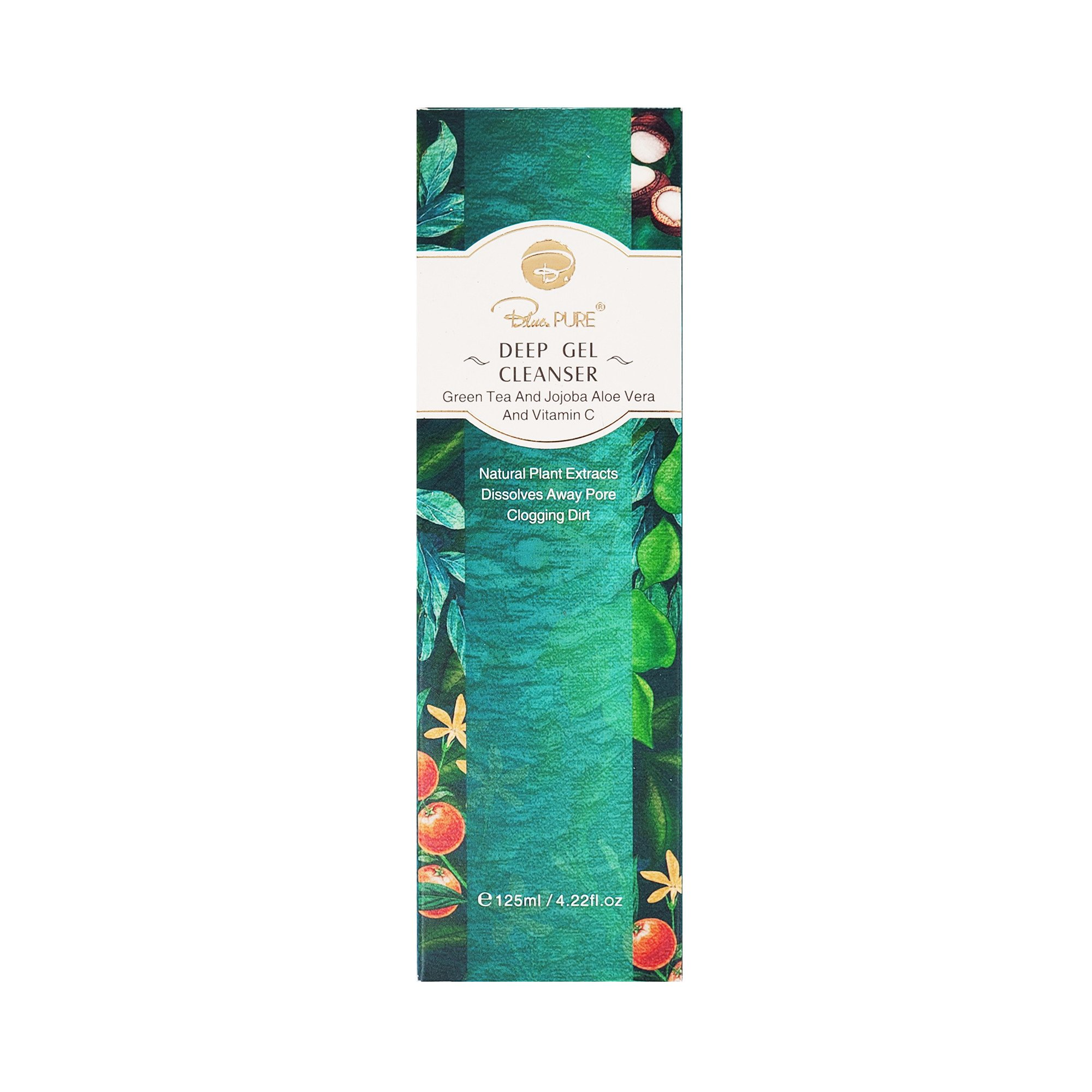 Sữa rửa mặt trà xanh sạch sâu giải phóng lỗ chân lông Blue.pure Deep Gel Cleanser (125ml)