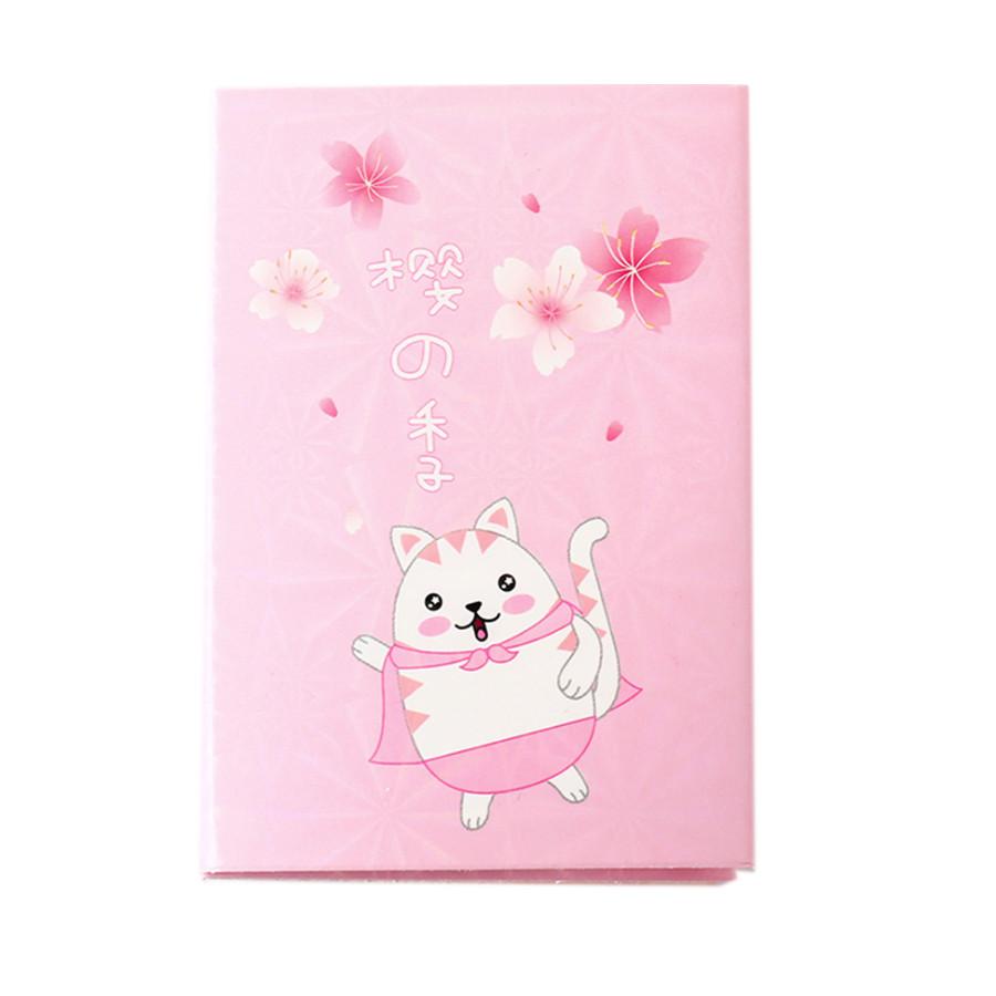 Cuốn Tập Giấy Note - Chú Mèo Nhật Bản Giữa Mùa Hoa Sakura - Giao mẫu ngẫu nhiên