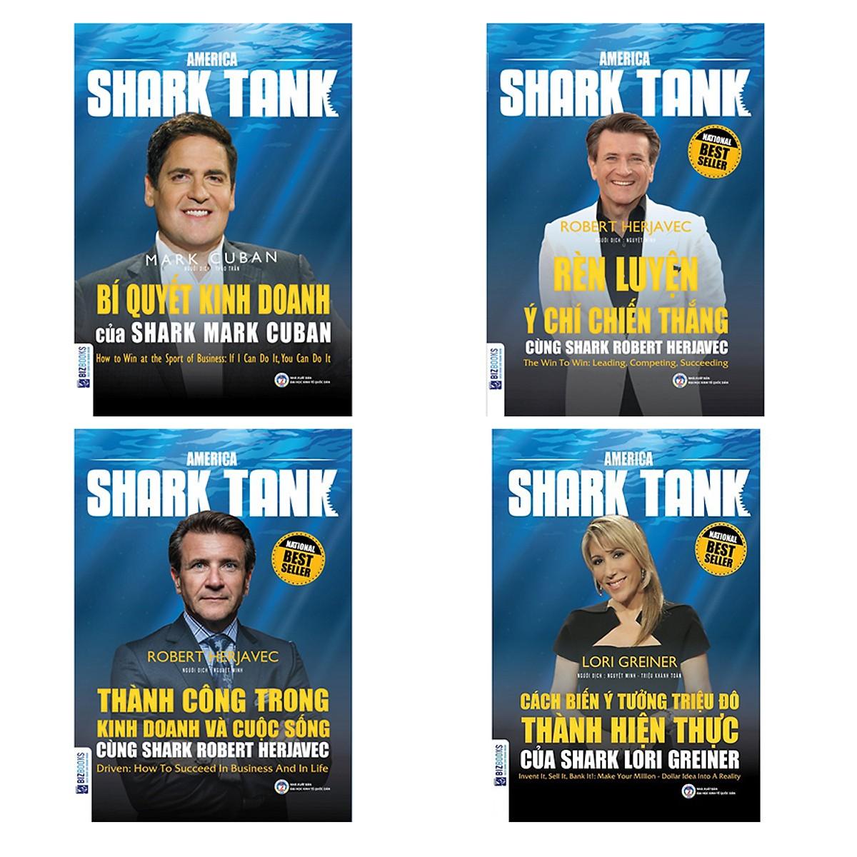 Combo 4 cuốn shark tank (Tặng kèm Kho Audio Books)