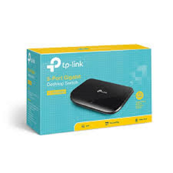 Switch TP LINK SG1005 Gigabit. Bộ chia mạng 5 cổng. Hàng chính hãng.