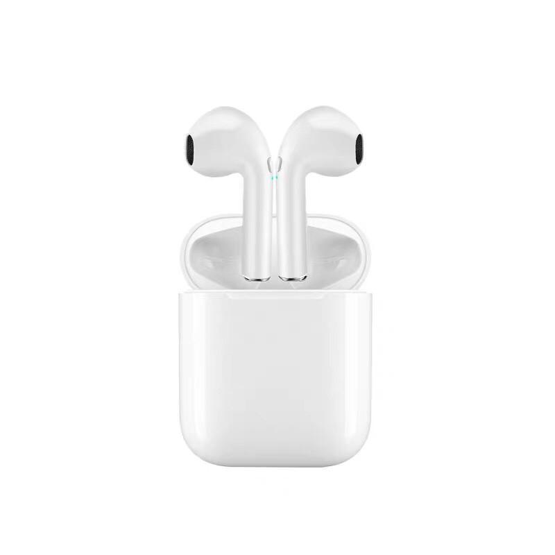 Tai Nghe Bluetooth Nhét Tai  i11 + Tặng Kèm 1 Ghế Đỡ Điện Thoại Chữ O - Hàng Nhập Khẩu