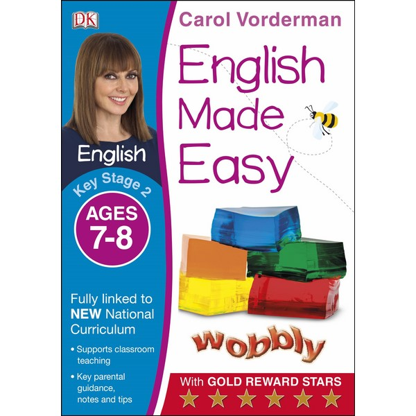 Carol Vorderman: English Made Easy Ages 7-8 Key Stage 2
