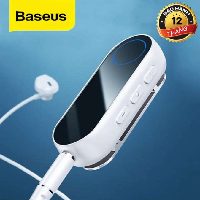 Thiết Bị Thu Bluetooth BA02 Dành Cho Tai Nghe Loa Không Dây Cổng AUX 3.5mm 5.0 - Hàng Chính Hãng Baseus