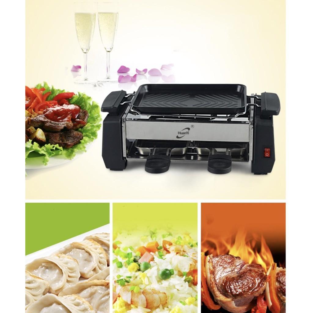 Bếp nướng điện áp chảo tiết kiệm điện kiểu nhà hàng Pháp