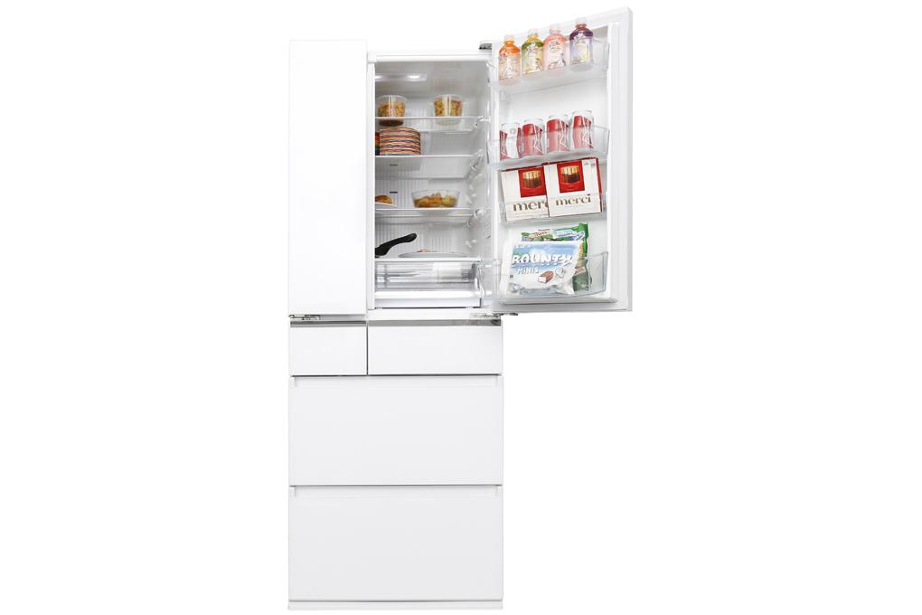 Tủ lạnh Panasonic Inverter 489 lít NR-F510GT-W2 - Hàng chính hãng