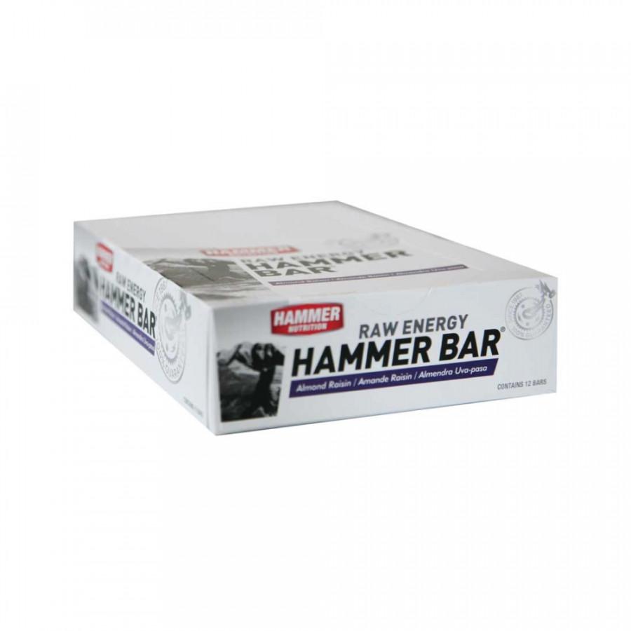 Thanh bổ sung năng lượng - Hammer Nutrition Energy Raw - Hạnh nhân- nho - 12 thanh