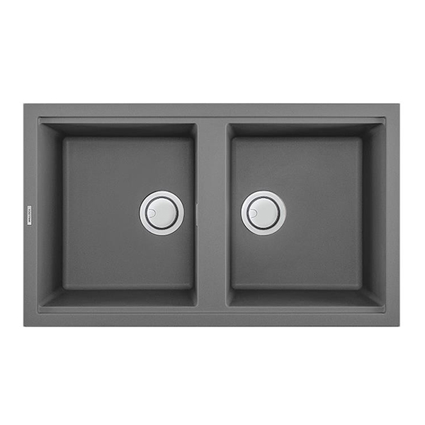 Chậu Rửa Đá Granite Nano MallocaTITANIUM K-45073 - Xám