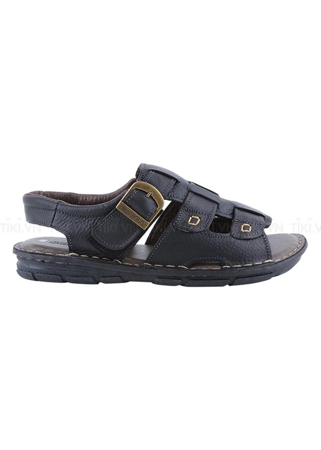 Giày Sandal Nam Da Bò Cao Cấp SUNPOLO SUSDA22